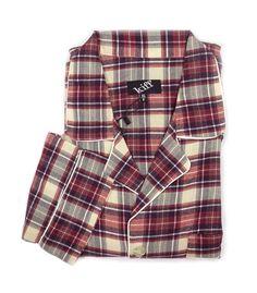 Pijama Kiff-kiff de Franela de Algodón. #menswear #homewear