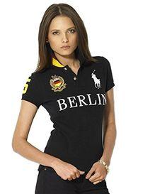 Polo Ralph Lauren Womens Shirt Black Berlin