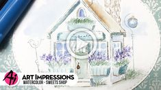 Watercolor Tips, Watercolour Tutorials, Watercolor Techniques, Art Impressions, Ai Shoes, Cardmaking, Stamping, Blog, Cards