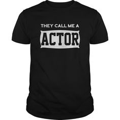 T shirt Actor Edition T-Shirts, Hoodies. BUY IT NOW ==► https://www.sunfrog.com/Jobs/T-shirt-Actor-Edition-Black-Guys.html?id=41382