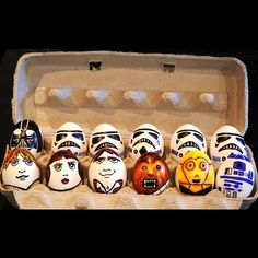 Star Wars breakfast theme - imagine serving these in your restaurant :)