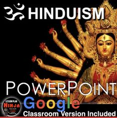 Hinduism PowerPoint/Google Slides with video clips and presenter notes is packed with maps, stunning visuals, and embedded video links, and presenter notes, everything you need to keep your students engaged.This twelve slide PowerPoint takes students from the early migration of the Aryans, their cas... History Lesson Plans, World History Lessons, Teaching Social Studies, Teaching History, Jesus Bible, World Religions, Reading Activities, Hinduism, Video Clip