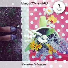 The 3rd place of the #BlugirlFlowers2013 Instagram Contest goes to @matiradiclemente!  Congratulations and many thanks for joining the contest.