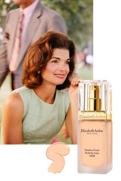 As theformer first ladyaged, her skin suffered from sun spots, likely the result of her many holidays in the South of France, Greece, and Rhode Island. To cover up the discoloration, sheturnedto Elizabeth Arden's Flawless Finish Foundation, which gave her a fresh-faced, evencomplexion.