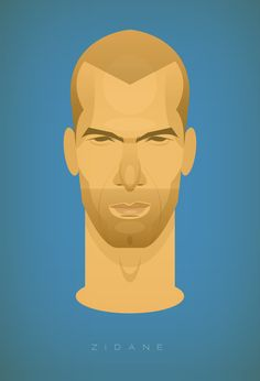 The World's Most Famous Footballers Illustrated By Stanley Chow x Zinedine Zidane Creative Illustration, Graphic Design Illustration, Illustration Art, Guy Drawing, Painting & Drawing, Stanley Chow, Football Art, Football Players, Football Stuff