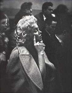 Marilyn Monroe - studying with Lee Strasberg