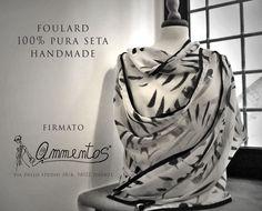 Handmade Silk Scarves by Ammentos, Firenze