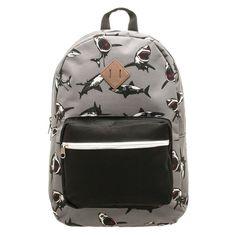 Americana 19.5 Backpack - Shark Print,