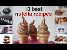TOP 10 BEST NUTELLA RECIPES IN 10 minutes How To Cook That Ann Reardon - YouTube