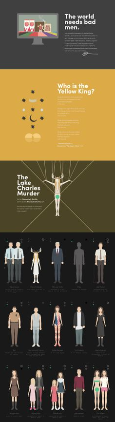 Super long illustration filled one pager by graphic designer Nigel Evan Dennis, paying tribute to the awesome 'True Detective' series. It's amazing what fans do nowadays but what I really like about his effort is how he pitching his illustrated art at the bottom. My favorite section is the aerial view of the 'Hoston Projects' road map, makes me want to watch it again. Great tribute Nigel and I hope the sales roll in!