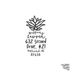 Paper & Party Supplies  Return Address  address stamp  housewarming gifts  save the date  wedding stamp  self inking stamp hospitality  made in usa  pineapple trend  preppy stamp  southern stamp  fruit address  pineapple stationery Wedding Moving New Home Personalized Custom Return Address
