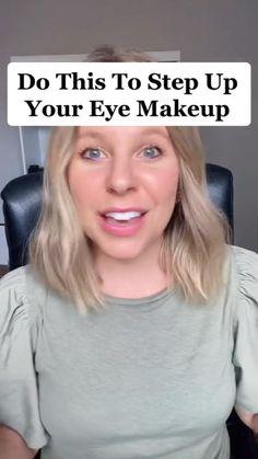 Hair And Makeup Tips, Eye Makeup Tips, Diy Makeup, Makeup Videos, Beauty Makeup, Beauty Tips, Beauty Hacks, Eyeliner Looks, Gel Eyeliner
