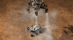 Space Images | Curiosity Touching Down, Artist's Concept