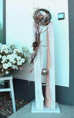 GS55 – Große Säule für Innen und Außen! Große gespaltene Säule, natürlich dekoriert mit einer großen Edelstahlkugel die herausnehmbar ist! Preis 149,90€ – Höhe 110cm