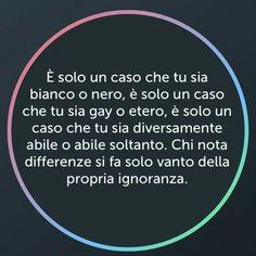 #differenze #ignoranza #vanto