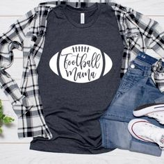 Excellent new born info are offered on our internet site. look at this and you wont be sorry you did. Sports Mom Shirts, Football Mom Shirts, T Shirts For Women, Football Football, Football Season, Baseball, Football Shirt Designs, Game Day Shirts, Mama Shirt