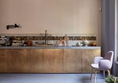 I couldn't resist posting these beautiful images of the Milan Showroom of Republic of Fritz Hansen. I love the picture arrangements on the walls and interesting mix of materials in the kitchen. You can find more here. Images from Republic of Fritz Hansen Fritz Hansen, Beautiful Kitchens, Cool Kitchens, Interior Architecture, Interior Design, Scandinavian Home, Country Kitchen, Kitchen Interior, Contemporary Furniture