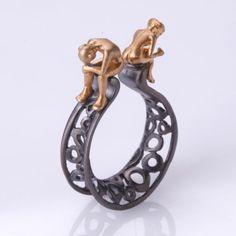 Fantastic love Ring by SeldaOkutan on Etsy, $148.00