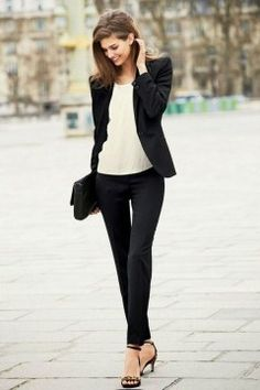 Fashionable work outfits for women : Style is a way to say who you are without having to speak.