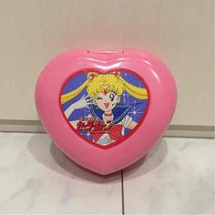RARE Sailor Moon Compact Comb Mirror HTF PINK Anime Japan Kawaii 460