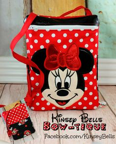 Facebook.com/KinseyBells or www.kinseybells.com for our exclusive custom mouse ears and light up park bags!