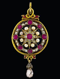 19th Century Pendant from India