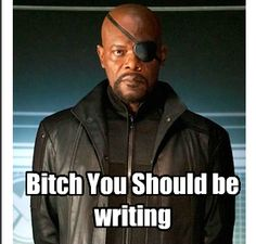 you should be writing avengers characters