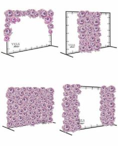 Floral wall with pvc frame how to make a portable wedding backdrop frame with PVC piping I really want a backdrop for a photobooth :D Giant Flowers on a Stand both sides - Home Page Backdrop Frame, Diy Backdrop, Photo Booth Backdrop, Photo Backdrops, Photo Booth Wall, Head Table Backdrop, Backdrop Wedding, Backdrop Stand, Paper Flower Wall