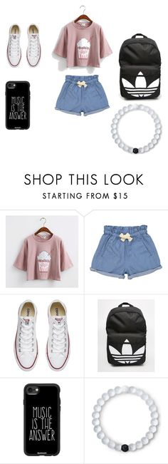 """""""untitled"""" by muskan5sos on Polyvore featuring Tootsa MacGinty, Converse, adidas, Casetify and Lokai"""