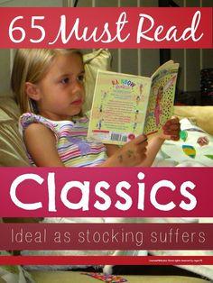 Classic books for children ... 65 must read classic books for children that are perfect for Christmas stocking stuffers