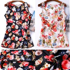 2015 Summer Women Tops Shirt 16 Styles Blusas Femininas Plus Size Flower Print Cheap Women Clothing China Female Blouse Shirt-in Blouses & Shirts from Women's Clothing & Accessories on Aliexpress.com | Alibaba Group