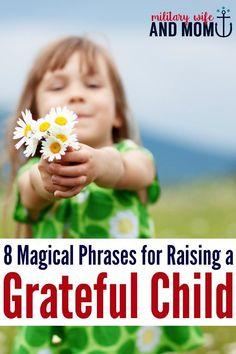How to raise a grateful child   teach kids appreciation   thankful kids   positive parenting   happy kids via /lauren9098/