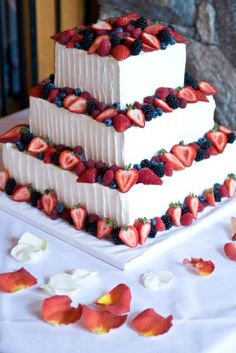 Remarkable Wedding Cake How To Pick The Best One Ideas. Beauteous Finished Wedding Cake How To Pick The Best One Ideas. Cupcakes, Cupcake Cakes, Cake Boss Cakes, Beautiful Cakes, Amazing Cakes, Make Your Own Wedding Cakes, 4th Of July Cake, July 4th, July Wedding