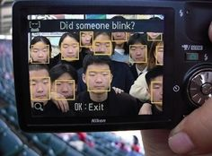"""Facial Recognition Software, Go Home! / """"Did Someone blink?"""" / Buzzfeed"""