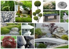 Aménagement extérieur et plan 3D de jardin tendance japonnaise Eden Design, Garden Projects, Stepping Stones, Zen, Outdoor Decor, Plants, Japanese, Home Decor, Garden