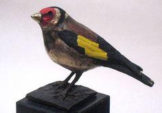 bronzen vogels, ijsvogel, kauw, roodborst | Bronzen beelden van Coos van Eijk