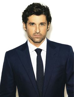 On the cover and with an extensive interview, this month's edition of Details showcases Dr. McDreamy himself, Patrick Dempsey. It shows. Grey's Anatomy, Pretty People, Beautiful People, Breathe, My Sun And Stars, Hommes Sexy, Raining Men, Sharp Dressed Man, Well Dressed