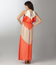 vince camuto colorblock maxi--must have