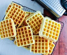 Bulk Freezer Recipes, The Best Homemade Waffle Recipe, Homemade Waffle Recipe, Waffles, Money Saving Recipes