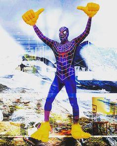 Cosmic Comic Spiderman AR. Das wilde Denken. 2017  Experimentelle Medien Cluster FHSTP323  Warum? Wozu? Wie? Wo? Wann? - VISIONEN & UTOPIEN Erinnerungssplitter, Imaginationsfunken und Bildmontagen  Markus Wintersberger 2017  Claude Lévi-Strauss https://de.m.wikipedia.org/wiki/Wildes_Denken  #experimentellemedien #medienkunst #imagination #funke #erinnerung #splitter #digitalemedientechnologien #montage #cluster #spur #analog #digital #praxis #virtuellerealitaet #VR #360grad #wearable…