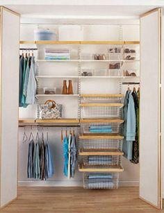 vestidores distribución - distribuir el armario - Reportaje - Decoracion facil - Ideas para ganar espacio, decoracion facil, reciclaje de muebles - CASADIEZ.ES