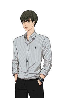 Cogan baru Line Webtoon 'Lee Suho' The secret of Angel Anime Korea, Man Sketch, Modelos 3d, Webtoon Comics, Lookism Webtoon, Fashion Illustration Sketches, Handsome Anime Guys, Hot Anime Boy, Boy Art