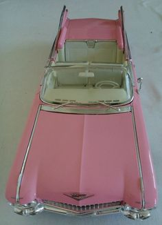 MAISTO CLASSIC 1959 CADILLAC ELDORADO BIARRITZ MODEL CAR DIECAST PINK 1/18 USED | eBay