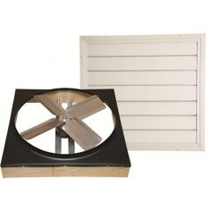 Cool Attic 24 in. Direct Drive Whole House Fan with Shutter at The Home Depot - Mobile Home Ceiling, Ceiling Fan, Whole House Fan, Attic Fan, Electric Fan, You Draw, Next At Home, Galvanized Steel, Home Repair