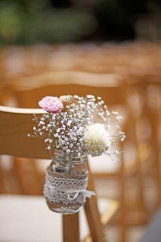 wedding decor jars
