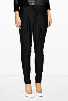 Linear Drape Trousers by Helmut Lang