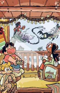 Steven and the crystal gems Steven Universe Wallpaper, Cartoon Network, Miraculous, Boom Studios, Universe Art, Wow Art, Funny Comics, Fanart, Pokemon