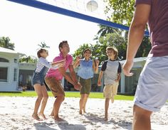 A little healthy competition between family members (volleyball, soccer, Frisbee, etc) is a great way to get active after #Thanksgiving. #HealthiestWeightFL