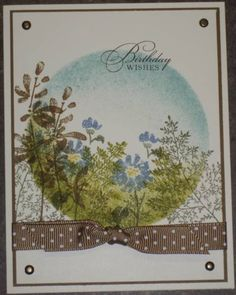 Circle of Flowers by barbara1976 - Cards and Paper Crafts at Splitcoaststampers