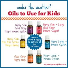 Essential Oils to Use for Kids When They Need Immune Support